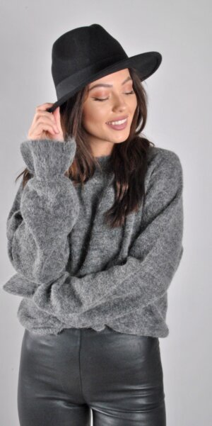 MSCH - Giselle alpaca pullover Grey