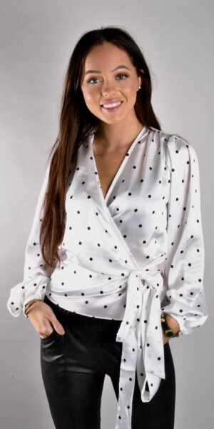 Twist & Tango - Valentina Blouse Black Dot