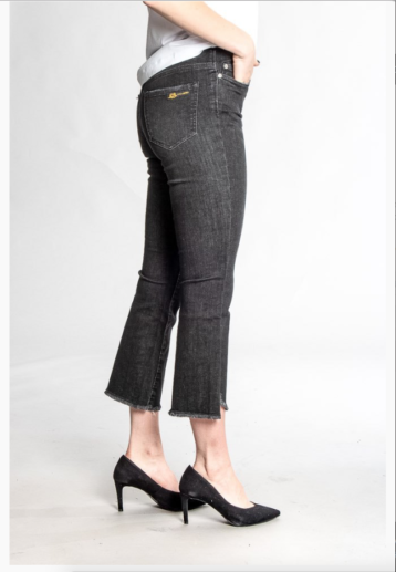 Two Angels - Kick flare jeans / Black