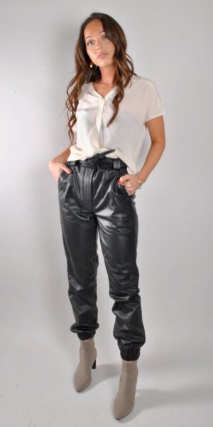 Second Female - Indie leather trousers