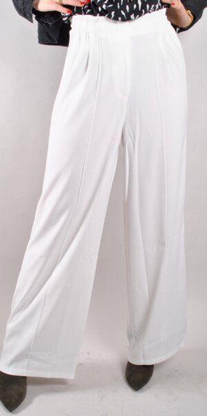 ALIX The Label - WIDE LEG PANTS WHITE