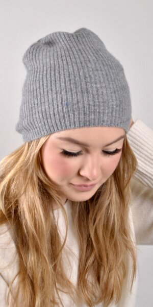 Lisa Yang - BROOKLYN BEANIE / Grey