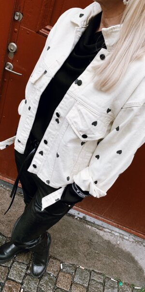 Angel - Overzise jacket Heart / OffWhite