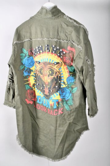 Angel - Don't look back Tiger jacket / Black