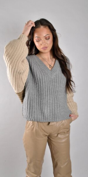 Six Ames- Joy knit top Multi color