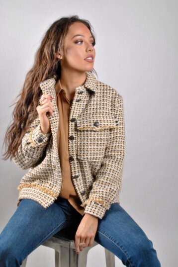 Co´Couture Co´Couture - Rosalie Jacket Mustard- Rosalie Jacket Mustard