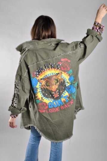 Angel - Don't look back Tiger jacket / Green