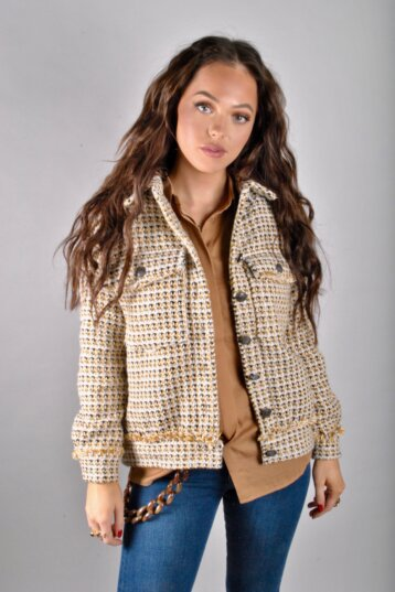Co´Couture - Rosalie Jacket Mustard