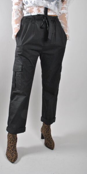 Co´couture - Pretoria utility pant / black