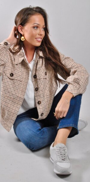 Co´couture - New rosalie check jacket