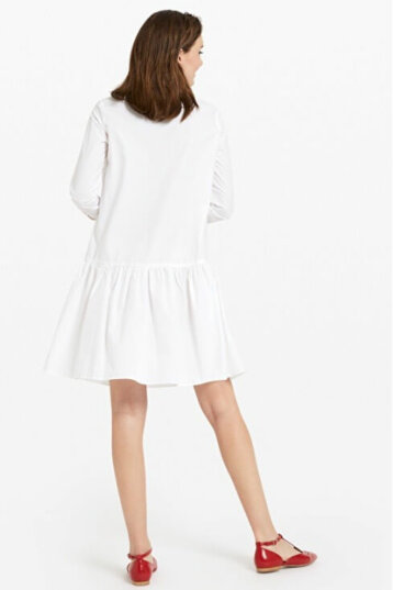 Ottod'Ame -POPLIN MINI DRESS