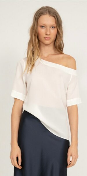Ahlvar Gallery - Chika blouse off-white