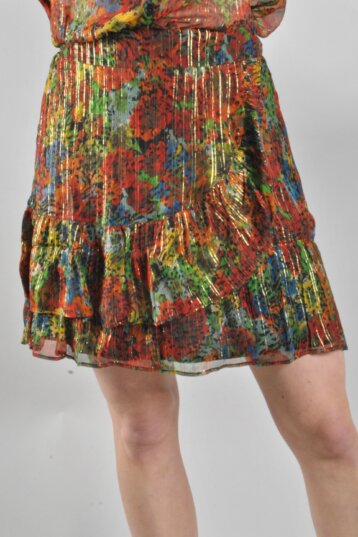 Alix The Label - Skirt/Spicy Coral