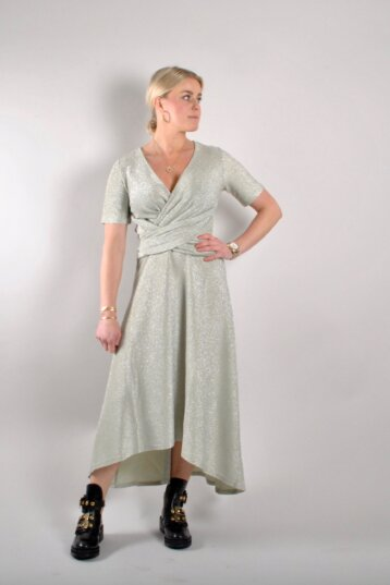 Just - Utopio dress / Celadon green