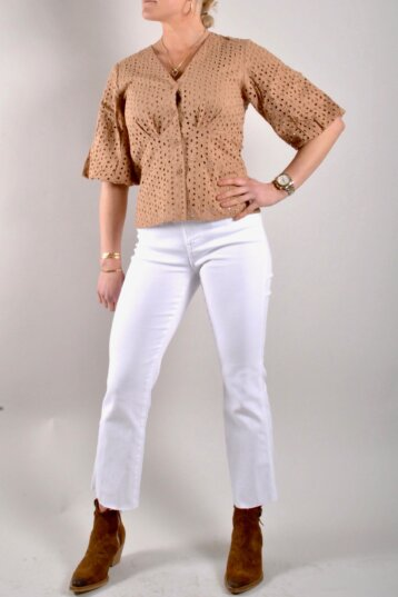 Second Female - Milly SS Blouse/Praline