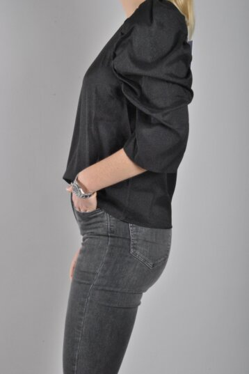 Co´couture - Justin Puff Blouse / Black