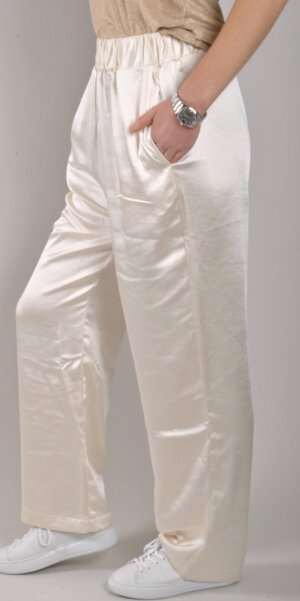 Lili Sidonio - Young Ladies Woven Pants / Cream