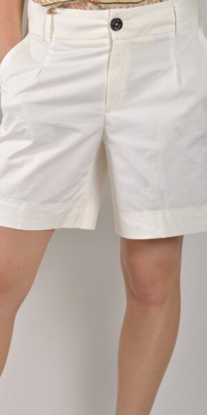 Mos Mosh - Mika Cole Shorts / White