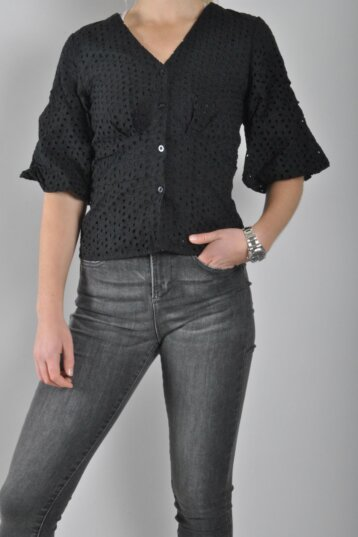 Second Female – Milly SS Blouse/Black