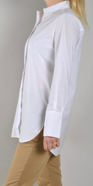 Second Female - Larkin LS Classic Shirt / White Alyssum