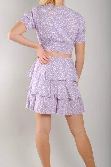Angel – Dotty skirt / Purple