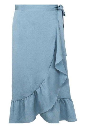 Neo Noir – Mika skirt / Dusty Blue