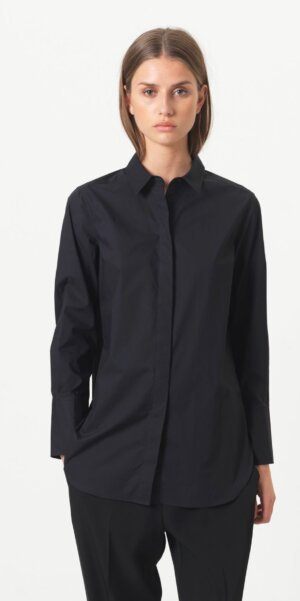 Second Female – Larkin LS Classic Shirt / Black