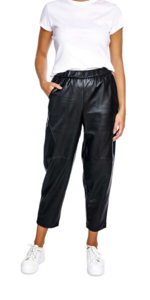 Neo Noir - Aby Faux Pants / Black