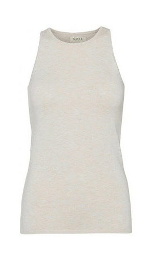 Norr - Chelsea Knit Tank Top / OffWhite