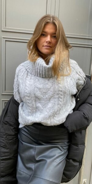 Angel - Polo Neck / Light Grey